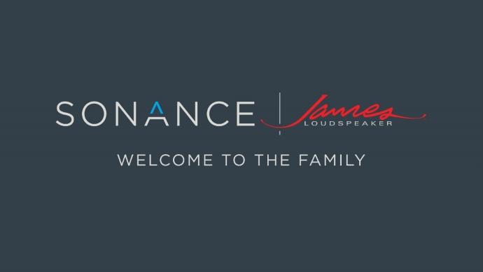 Sonance провела ребрендинг и купила James Loudspeaker
