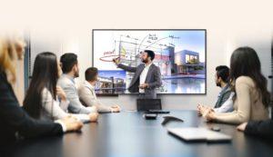 Новые интерактивные дисплеи LG TR3BF для совместной работы