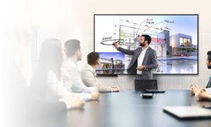 Создать контент прямо в офисе? Интерактивный LG 86TN3F может!