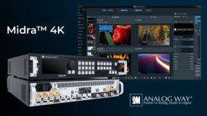 Analog Way Midra 4K: качество без компромиссов