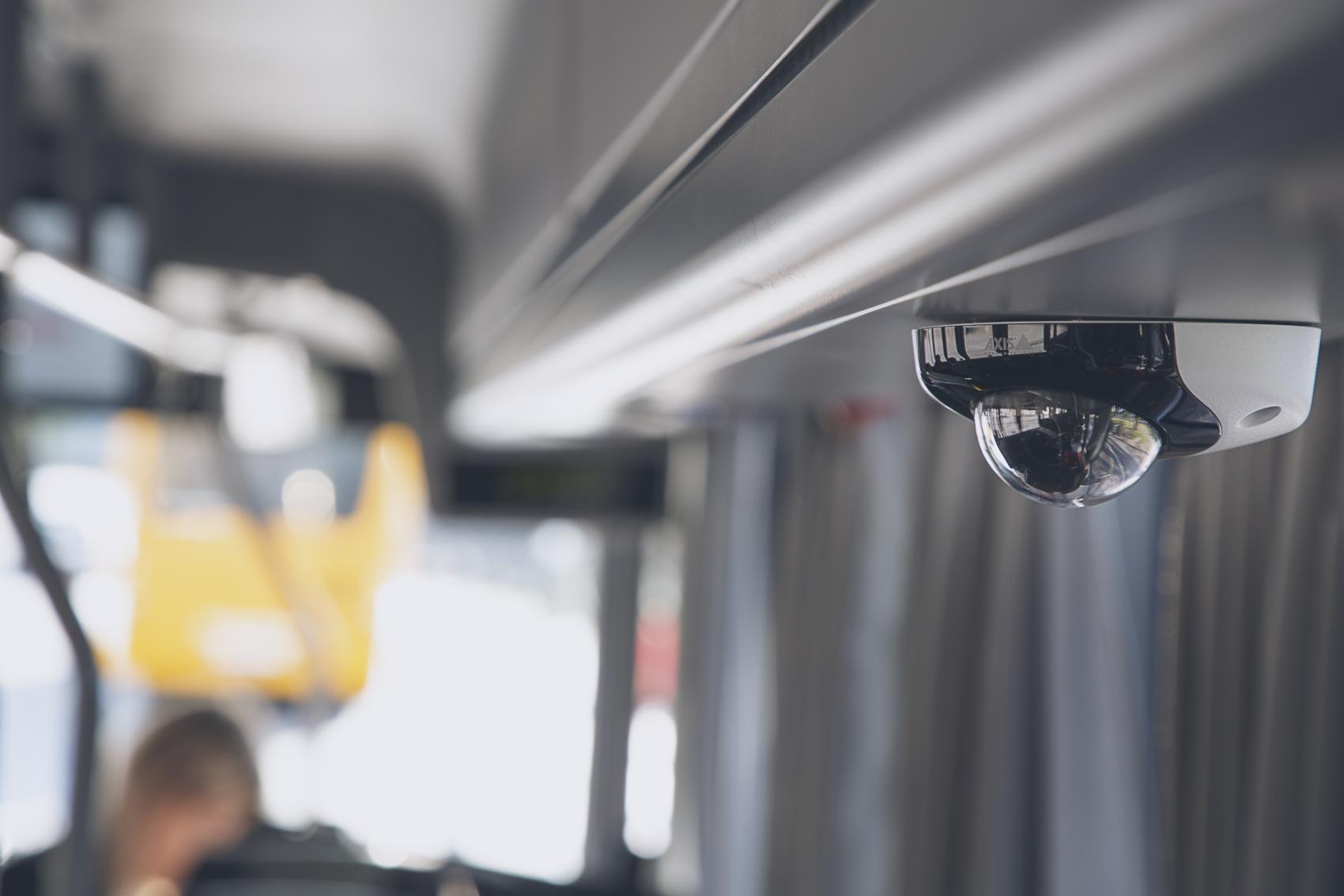 Axis Communications выпустила специальные камеры для видеонаблюдения на борту транспортных средств