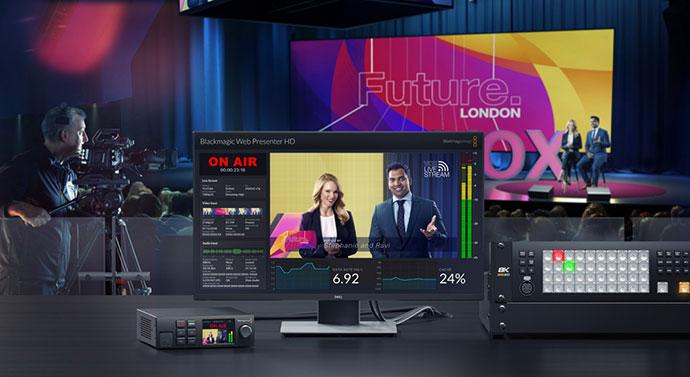 Blackmagic Web Presenter HD — комплексное решение для стриминга